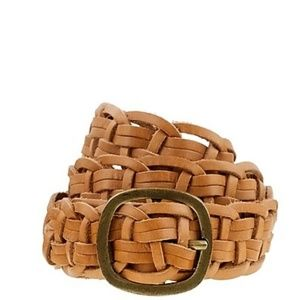 NWT $40 J Crew Braided Belt